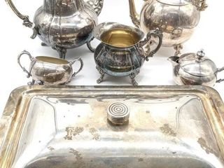 Tea Pots, Creamers and Sugar Dish