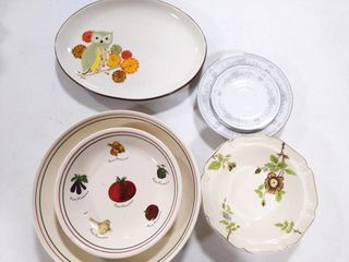 Bowls, Plates, and Tray