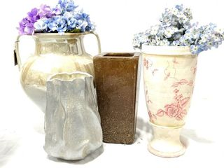 "Vases and Planters 11""-16"""
