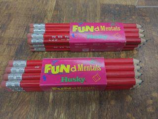 Fundamentals Husky Pencils (2) Packages