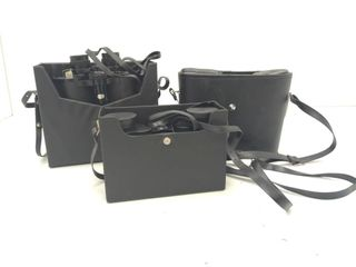 (3) Set of Binoculars with Hard Case