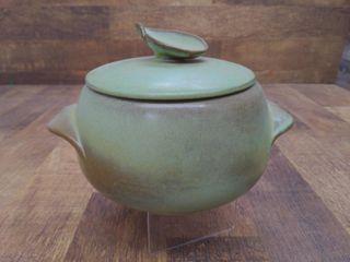 """Frankoma 4V Ceramic Pot 10""""x7""""x7"""""""