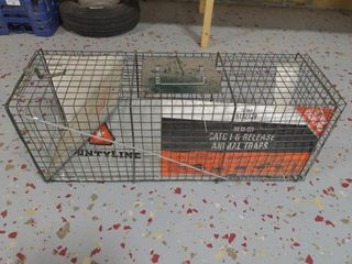 "Catch and Release Animal Trap 32""X10""X12"""
