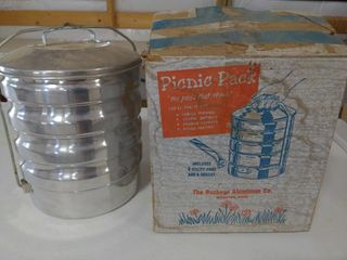 Picnic Pack Stackable Aluminum Cookware