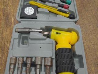 Ratcheting Nut Driver Tool Set