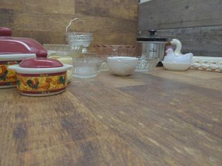 Glass and Ceramic Bowls, Dishes , and Mini Slow