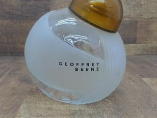 "Glass Geoffrey Been Jar 9.5"" Tall"