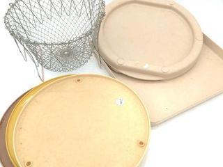 Egg Basket, Lazy Susan's, Microwave Plates