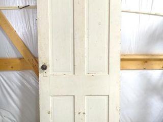 """4-Panel Wood Door 32""""x80"""""""