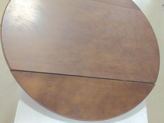 "Wooden Folding Table Top 40"" Diameter"