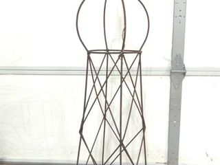 "Wire Tower Decor 42"" Tall"