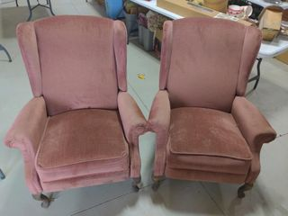 Pair of Reclining Chairs