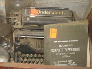 Collectible Underwood typewriter