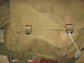 Army back pack