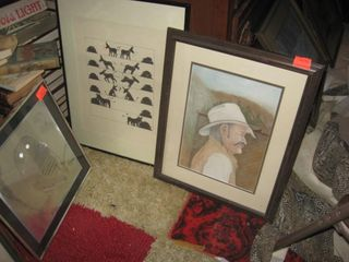 3 framed prints pix
