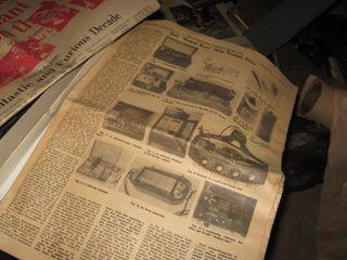Hutch News 1969   Adv plates