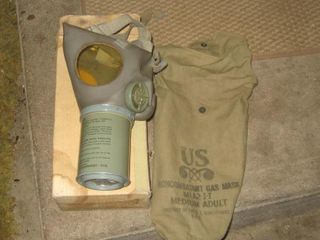 Non Combative Gas Mask