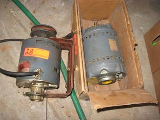 2 electric motors