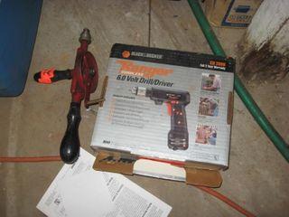 6 V B D Drill   hand auger
