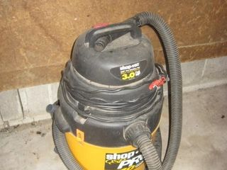 3 hp QSP shop vac