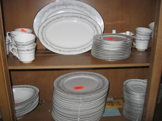 Montgomery Ward Style House Fine China