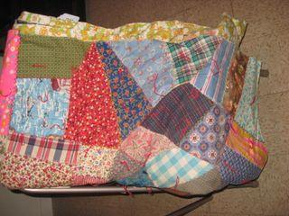 Tied comforter