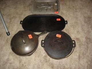 Three Cast Iron pieces