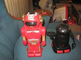 Two Battery operated robots