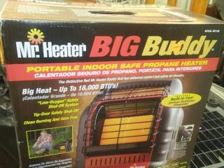Mr Heat Big Buddy, portable propane heater