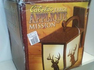 Cabela's Large Mission Sconce, New in box