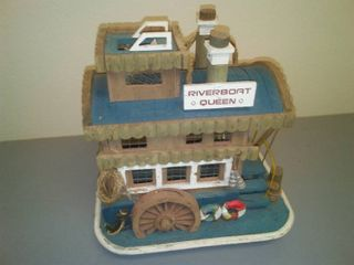 River Boat Queen Wood Decor