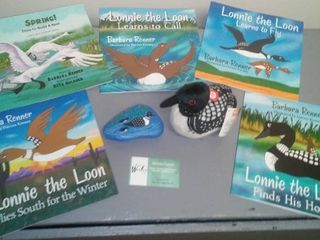 Lonnie the Loon Collection.