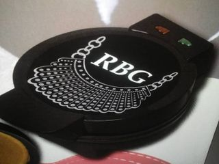 RBG (Ruth Bader Ginsburg) Waffle Maker, New in box.