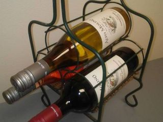 Wine Rack and contents (3)