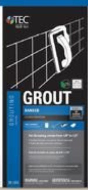 TEC Skill Set 25 lb light Pewter Sanded Grout