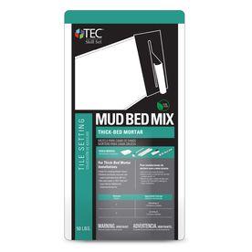 TEC Skill Set 50 lb White Powder Polymer Modified Mortar