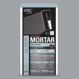 TEC Skill Set 50 lb Gray Powder Polymer Modified Mortar