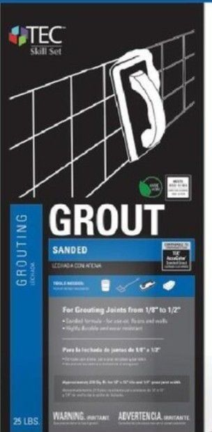 TEC Skill Set 25 lb Pearl Sanded Grout