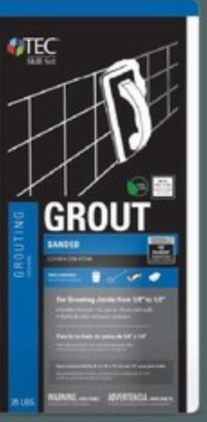 TEC Skill Set 25 lb Charcoal Gray Sanded Grout