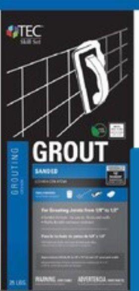 TEC Skill Set 25 lb Delorean Grayl Sanded Grout