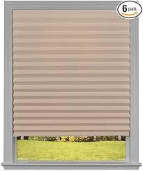 Original light Filtering Pleated Paper Shade Caf 48 X 72 6 pack Cafe