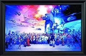 STARWARS FRAMED PICTURE