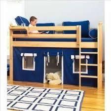 lOWlOFT BED W  PlAYHOUSE AND STORAGE