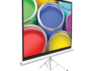 Pyle PRJTP42 40  Video Projector Screen  Easy Fold Out   Roll Up Projection Display  Tripod Stand Style