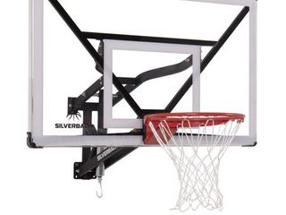 Silverback NXT 54  Wall Mounted Adjustable Height Basketball Hoop with QuickPlay Design