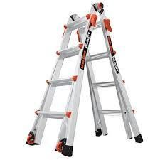VElOCITY  Model 13   ANSI Type IA   300 lb rated  aluminum articulated extendable ladder