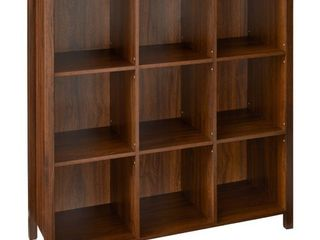 Storage Cube  ClosetMaid Premium 9 Cube Organizer   Dark Chestnut