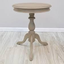 Copper Grove Buckhill Accent Table  Retail 111 49 weatherd grey