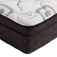 OSleep 10 inch Wrapped Coil Mattress  Retail 337 99 black