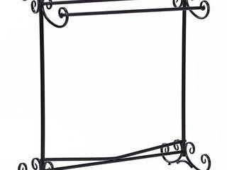 Ikee Design Metal Wire Simple Scrollwork Towel Rack
